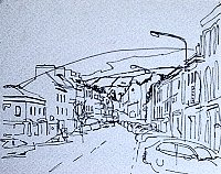ink drawing of Bantry